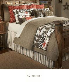 Cowboy Rodeo Bedding Collection- I want Cord's room to look like this.
