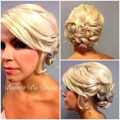 Updo by Diane o....wedding?
