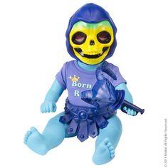 Mattel Baby Skeletor from Robot Chicken