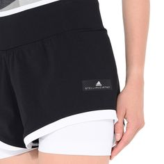 b413cc7b872dd  Black Training 2in1 Shorts - Adidas By Stella Mccartney ‎