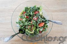 7b3063d42e4 Πράσινη σαλάτα με σως γιαουρτιού από το COOKLOS!🙂 Μια υγιεινή και θρεπτική  σαλάτα για όσους προσέχουν τη διατροφή τους!
