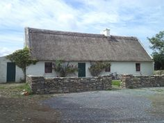Old Thatched Cottage near Killorglin,County Kerry.