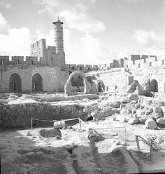 Tower of David 1934 ישראל_-_إسرائيل