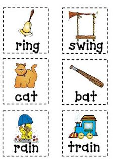 Another rhyming game - great for early literacy!  Also has ideas for reading comprehension & prediction.