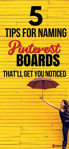 Pinterest Board Names matter when it comes to your overall Pinterest Marketing Strategy. Correctly naming and setting up your boards will help you get noticed and drive traffic to your blog.