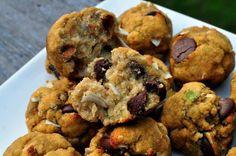 Avocado Coconut Cowboy Cookies  @What Runs Lori