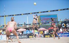 Kerri Walsh and April Ross 2014 Manhattan Beach Open | AVP Beach Volleyball