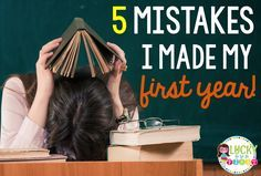 5 Mistakes I Made My First Year! Did you make any of these?