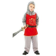 Comprar Disfraz de Guerrero Medieval para niños de 4 a 12 años.