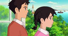oh-totoro - Posts tagged From up on Poppy Hill Studio Ghibli Art, Studio Ghibli Movies, Up On Poppy Hill, Isao Takahata, Cute Love Stories, Arte Disney, Howls Moving Castle, Film Studio, Animation