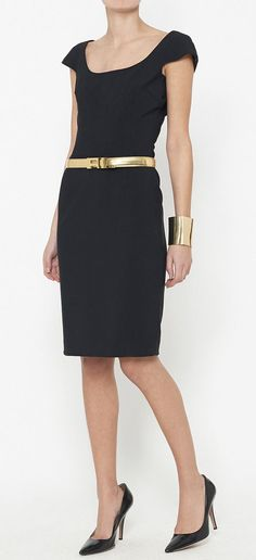 Dolce & Gabbana Black Dress | VAUNTE