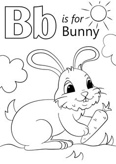 The Letter B Coloring Pages. 30 the Letter B Coloring Pages. B Coloring Page Letter B Coloring Pages Free Coloring Pages Letter B Coloring Pages, Bunny Coloring Pages, Coloring Pages To Print, Free Printable Coloring Pages, Coloring For Kids, Coloring Pages For Kids, Coloring Sheets, Coloring Books, Colouring