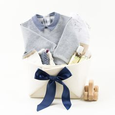 32ee3d4d2691 Luxury Baby Gifts · Welcome Home Baby Gift Basket featuring Il Gufo - Star  Light