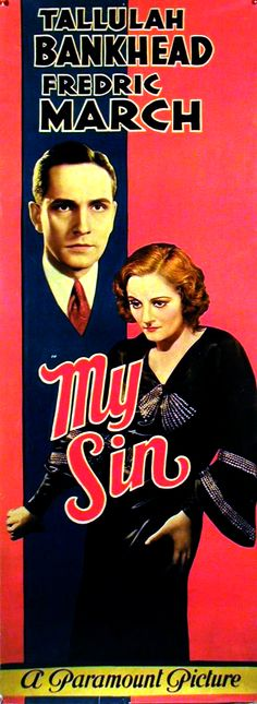 My Sin (1931).