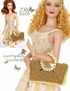 Crochet pattern for both 11 1/2 doll Barbie and von DBDollPatterns