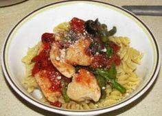 Healthy chicken parm!