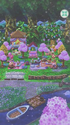 Animal Crossing Pocket Camp, Animal Crossing Game, Ac New Leaf, Happy Home Designer, City Folk, Animal Games, Minecraft Houses, Campsite, Iphone Wallpaper
