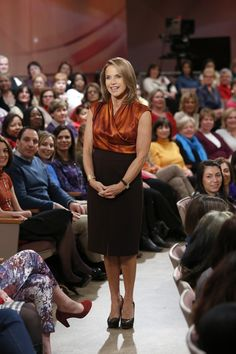 A Max Mara blouse & Magaschoni skirt worn by Katie during her Scandal hour!