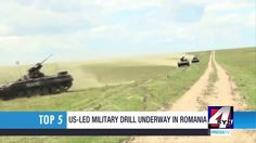 US led militarily drill underway in Romania