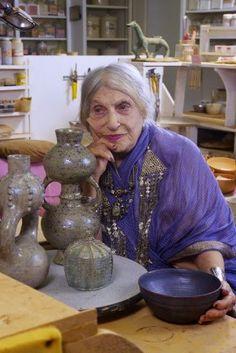 I have met Beatrice Wood in her studio in Ojai, Ca.