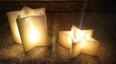 Luminárias Decorativas para decoração de interiores no formato de estrelas. Acesse www.magiadaluz08.net
