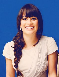 Lea Michele...I aspire to one day become as great of an actress as she is!