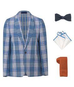 How To Accessorize a Summer Plaid Blazer.