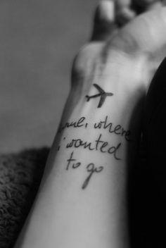 """home, where I wanted to go"" from Clocks by Coldplay . not the Coldplay lyrics I would pick but still a cool tattoo Go Tattoo, Tiger Tattoo, Tattoo Fonts, Tattoo Quotes, Wrist Tattoo, Tattoo Time, Sexy Tattoos, Body Art Tattoos, Tatoos"