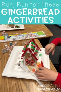 What is your favorite way to celebrate the Christmas season in your classroom? Read about two of my favorite gingerbread activities here! Holiday Classrooms, Classroom Fun, Hands On Activities, Literacy Activities, Literacy Centers, Primary School Curriculum, Christmas Activities For Kids, Christmas Crafts, Holidays Around The World