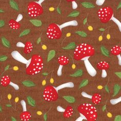 toadstool fabric