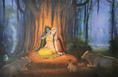 All glories to jaya Sri Radha Madhava