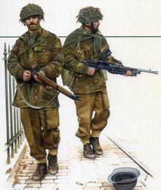 British Parachute Regiment WW2.