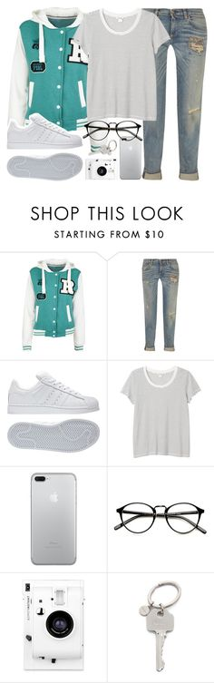 """Mar 58"" by alexandra-provenzano ❤ liked on Polyvore featuring Simon Miller, adidas, Monki, Lomography and Paul Smith"