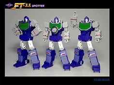 New Transformers FansToys FT 11 Masterpiece MP Spotter Reflector in Stock Transformers Decepticons, Transformers Toys, Beast Machines, Transformer 1, Revenge Of The Fallen, Transformers Masterpiece, Last Knights, Robot Action Figures, Cool Things To Buy