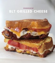 BLT Grilled Cheese | Choose Your Own Super Bowl Sandwich Adventure