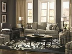 The Cadence Sofa From Lazboy Lazy Boy Furniture Leather Living Room