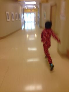 Running away from chemo! Children's hospital Vancouver B.C.