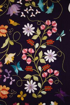 Beautiful embroidery and design!