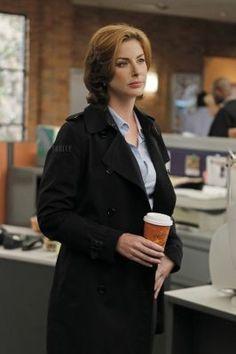 Abigail Borin (Diane Neal) NCIS. The Coast Guard Agent. Semper Paratus.
