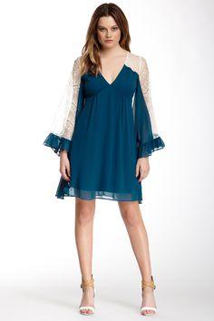 WANT.......VOOM By Joy Han | Voom Viviana Bell Sleeve Dress | HauteLook