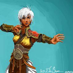 Female Monk (Diablo 3) by edsun.deviantart.com on @deviantART