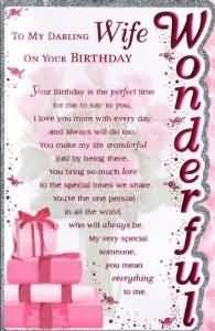 Superb Greetings Birthday Wishes For Wife Quotes Late 30th
