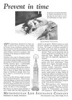 Met Life Insurance Co. 1930 Ad Picture