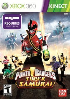 Power Rangers Samurai Xbox 360