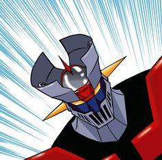 MAZINGER Z Gundam, Battle Robots, The Golden Years, Retro Images, Mecha Anime, Super Robot, Concept Art, Batman, Comic Books