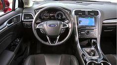 2015 White Ford Mondeo