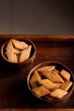 shankarpali recipe, how to make sweet shankarpali recipe