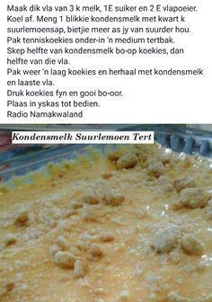 Milk Tart, South African Recipes, Muffins, Oatmeal, Sweet Treats, Recipies, Deserts, Bread, Breakfast