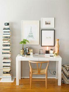 Cómo decorar un escritorioHow to style a desk