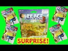 Surprise Toy Opening ICE AGE COLLISION COURSE Collectible Figures Blind Bags Little Wishes Kids - YouTube